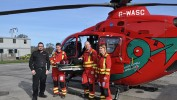 Manikin Donation to Welsh Air Ambulance