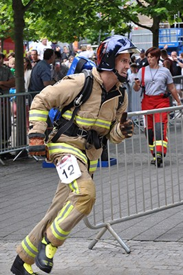 British Firefighter Challenge – Phenomenal fitness and inspiring the younger generation