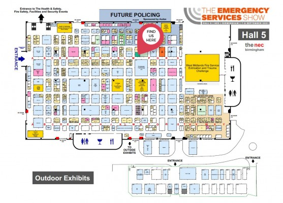 Guess who's back at the Emergency Services Show 2021!