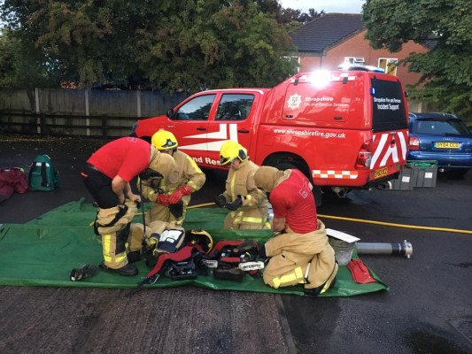 Inspired Hazmat Training from British Fire Station