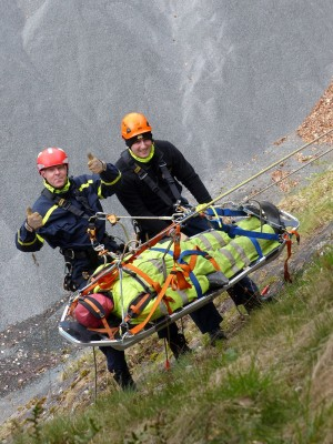 """Realistic casualty"" for specialist training provider Lyon"
