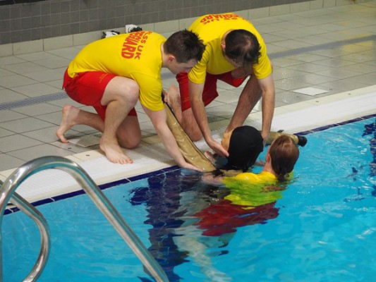 Revolutionary product launching to improve pool life-saving skills