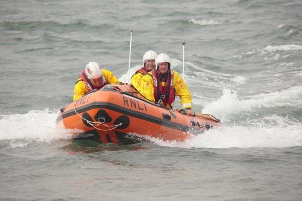 Man Overboard manikin used for assessment at National Coast Watch Station in Exmouth