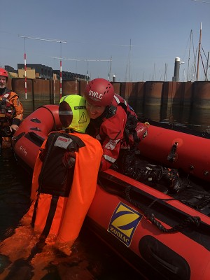 Water Rescue manikins help Surf Life Saving GB to prove that rescue workers are fit for the job!