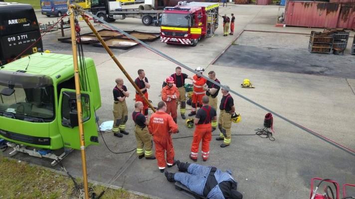Dorset & Wiltshire Fire Service preparing for bariatric rescues