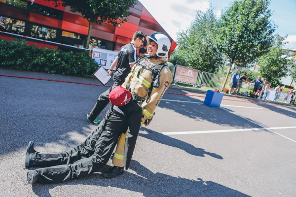 Ruth Lee Supports British Firefighter Challenge 2016