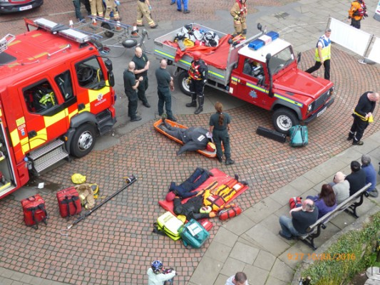 Manikins used in Multi-Agency Search and Rescue Exercise