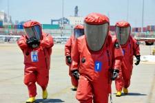 Easily cleaned and decontaminated after any CBRN exercises