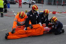 Rescue training exercises in Greece