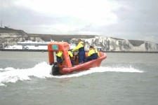 Training with the Maritime Skills Academy in Dover Harbour, October 2020