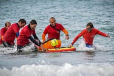 Italian Lifeguards - Surf Rescue training