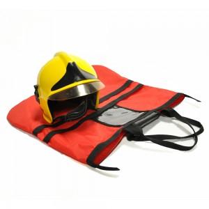Firefighter Helmet Bag with Pockets for Gloves