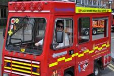 Having fun at the British Firefighter Challenge